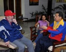 Imágenes recientes de Chávez conversando con Fidel Castro